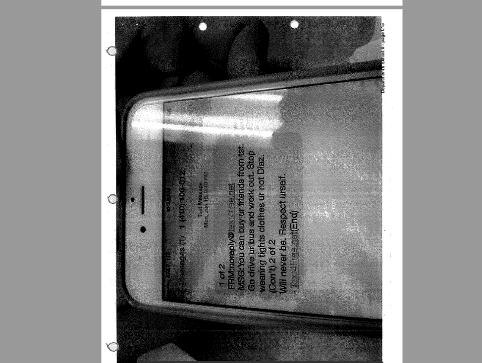 mandoyan text messages from victim court timeline