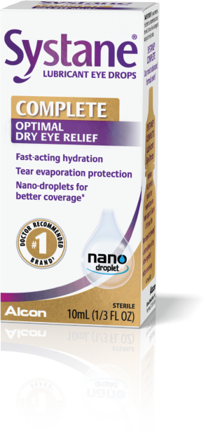 Systane® COMPLETE Optimal Dry Eye Relief