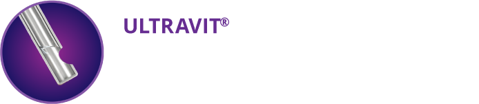 Tip of ULTRAVIT® Vitrectomy Probe