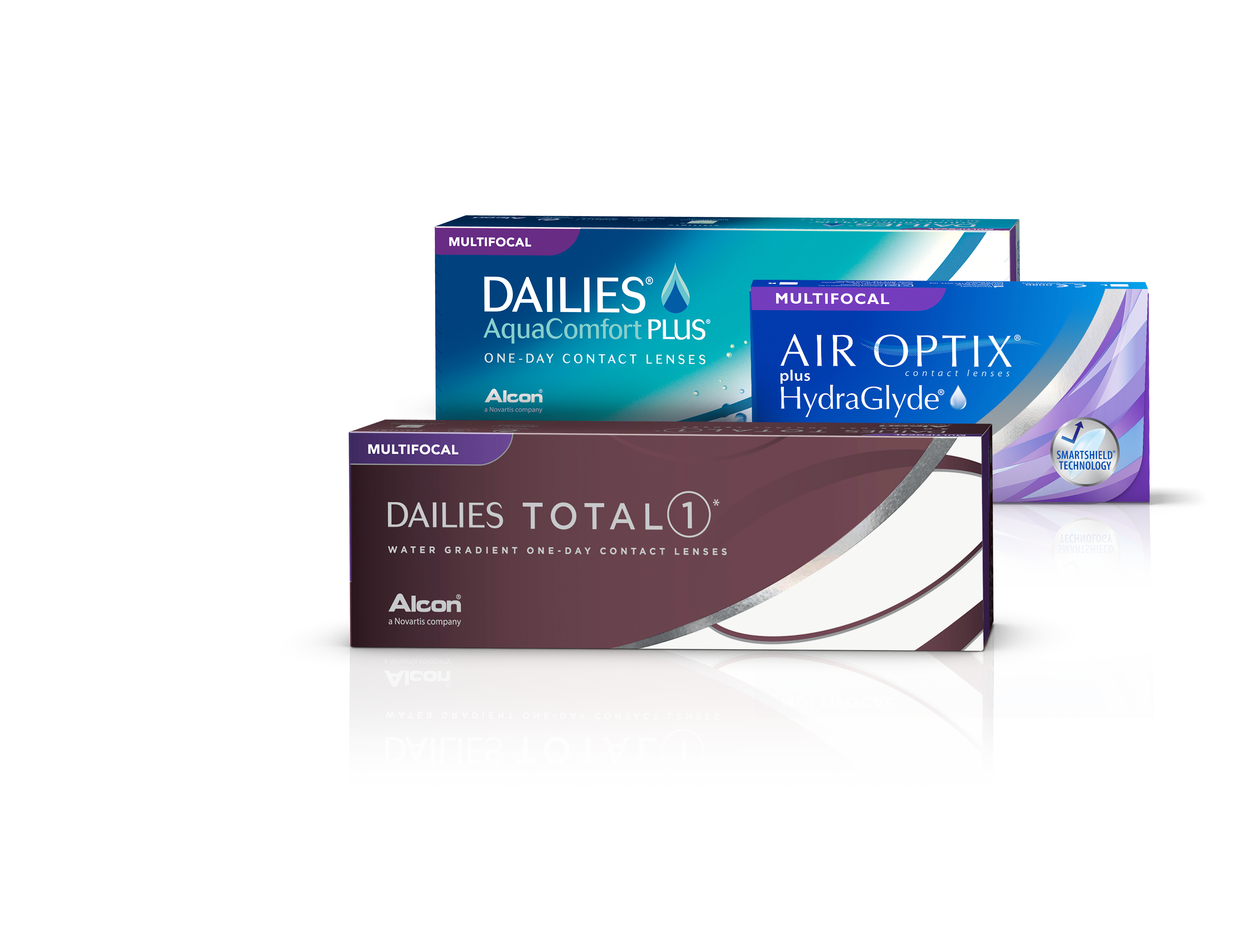 Alcon Family of Multifocal Contact Lenses