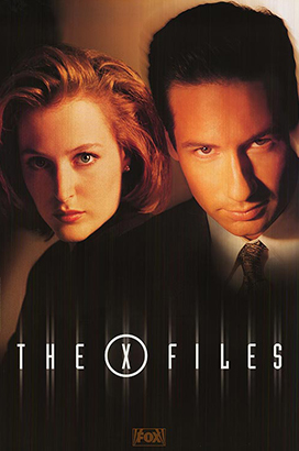 x files tv show poster