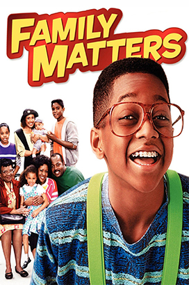 family matters poster - tv show fonts example