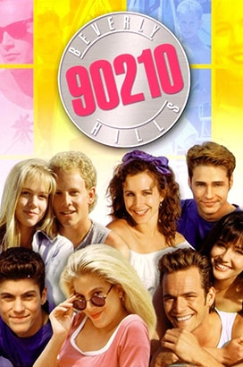 beverly hills 90210 poster