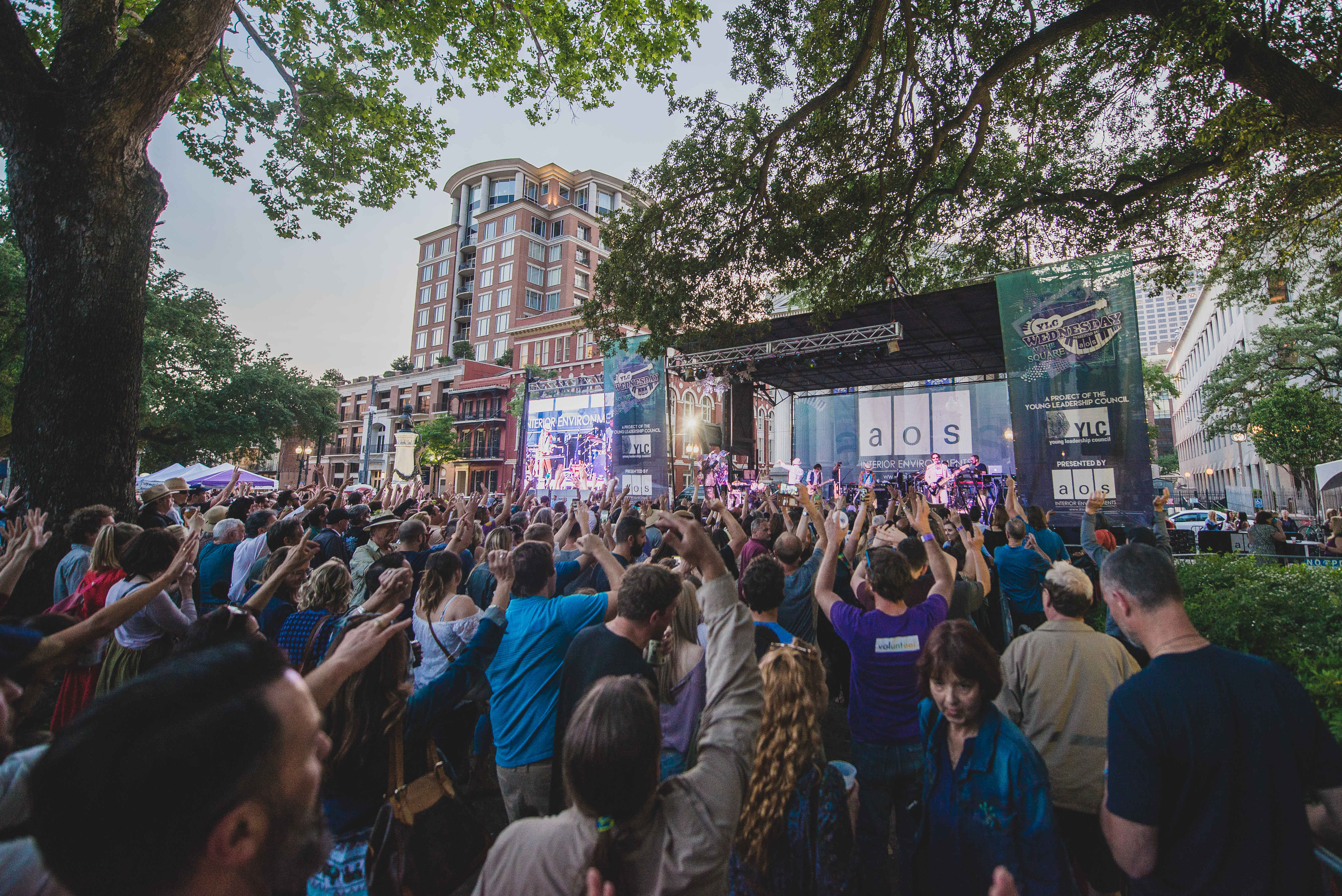 YLC Wednesday at the Square, Give NOLA Day