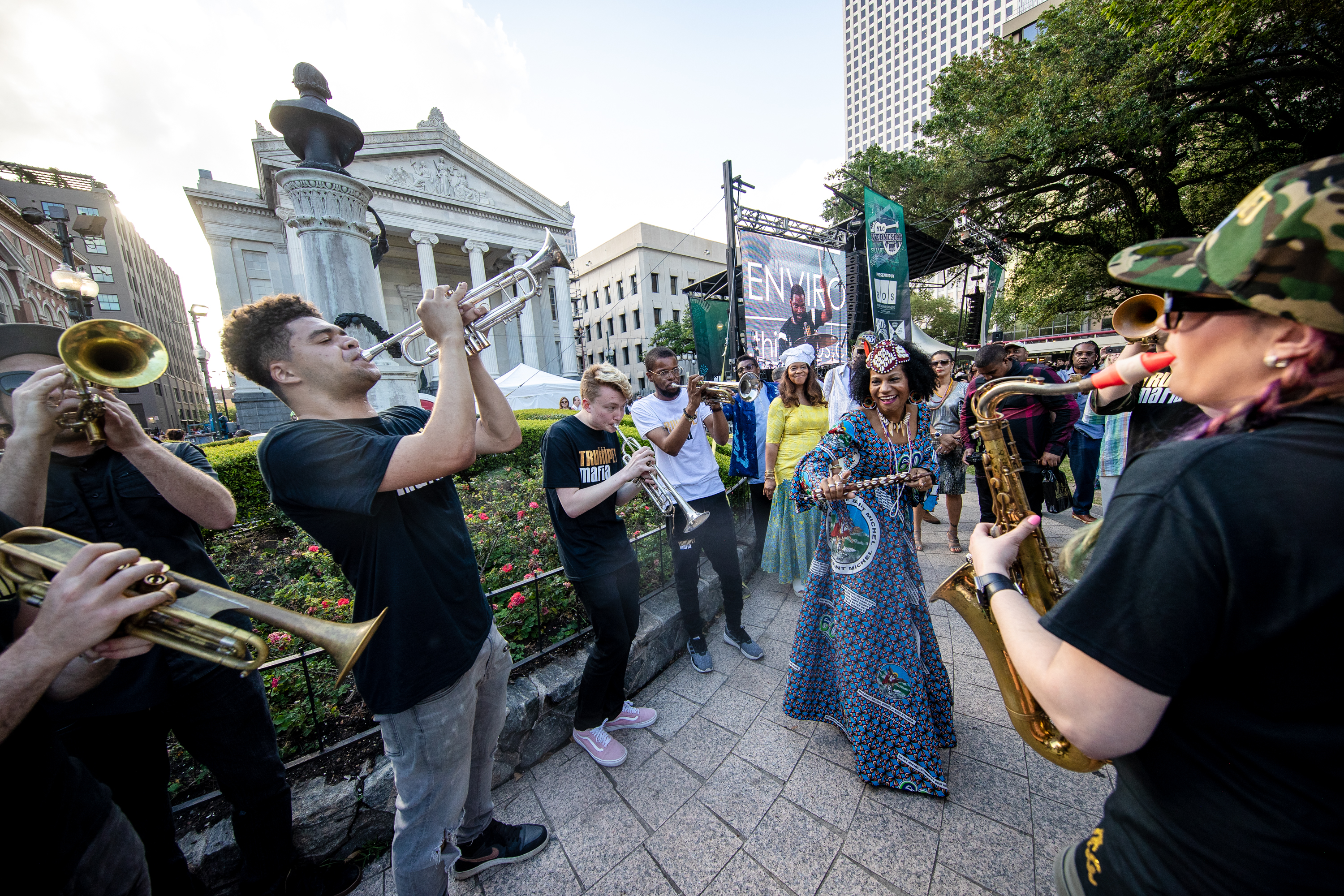 YLC Wednesday at the Square, Give NOLA Day, Virtual Concert, Live Music,