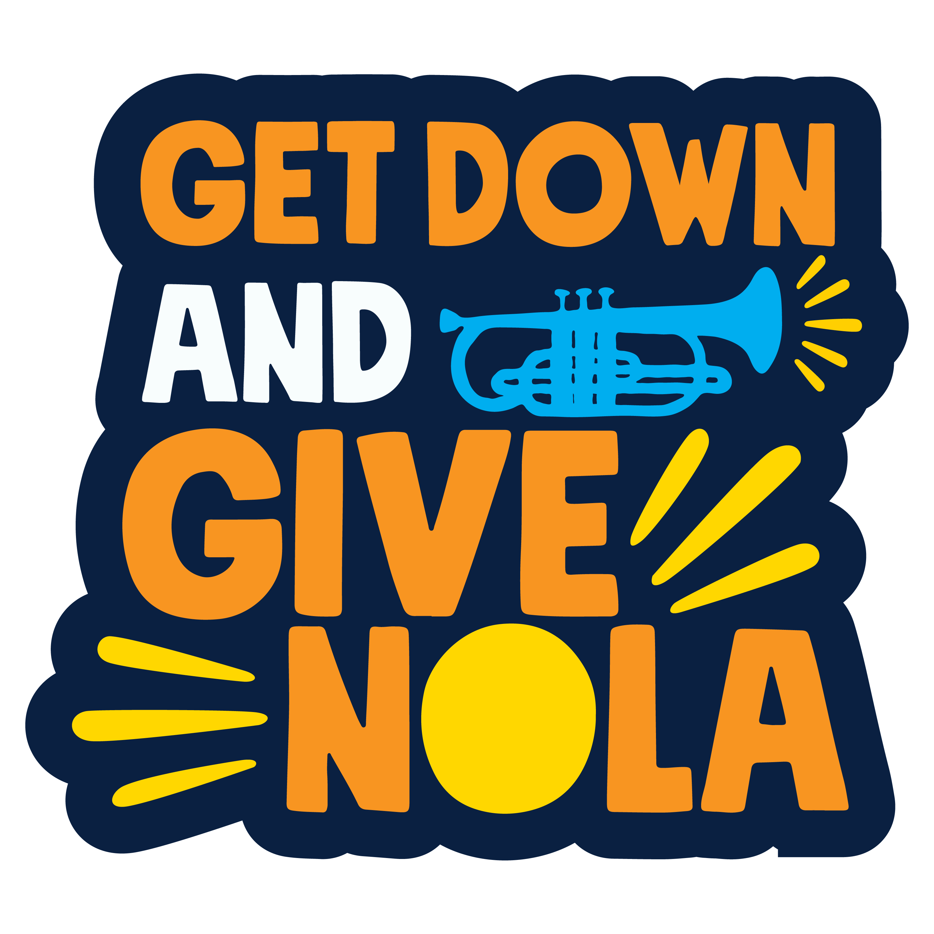 Give NOLA Day, Get Down and Give NOLA