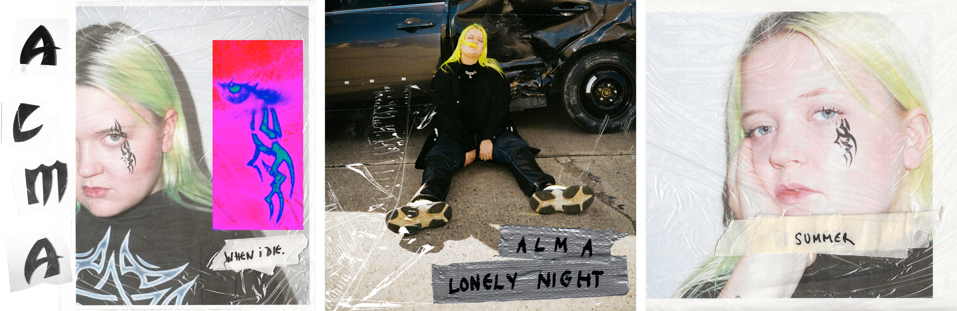 Alma Singles When I Die Lonely Night Summer