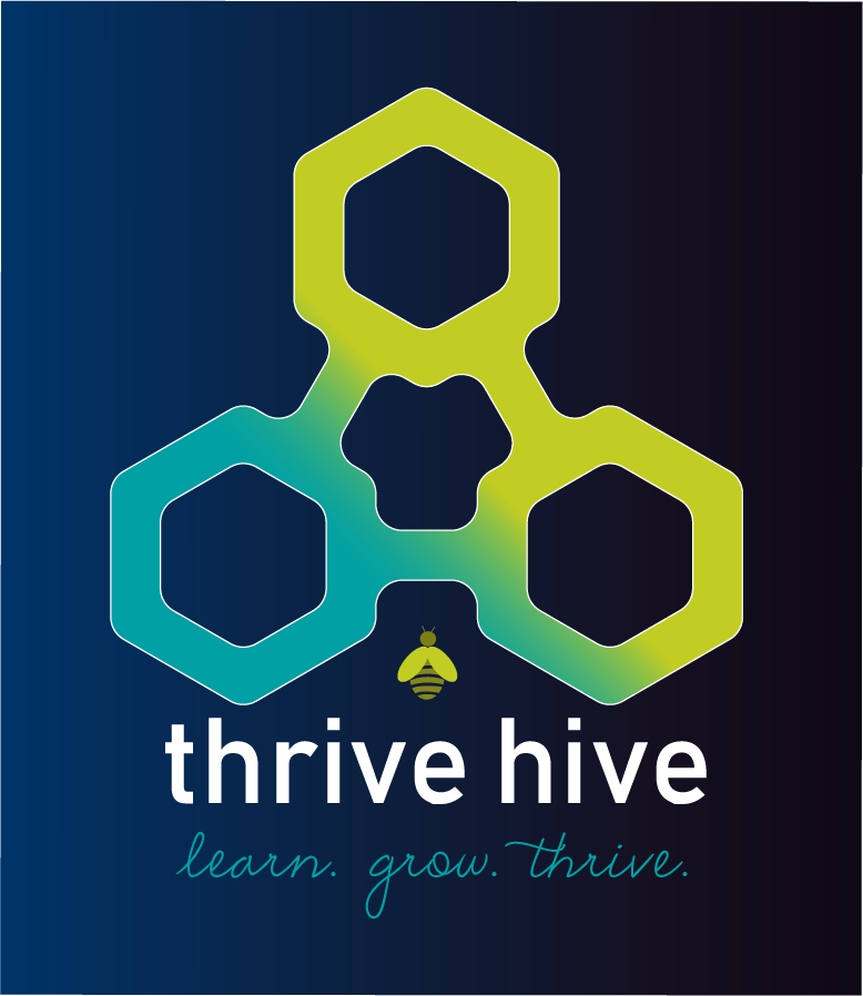 BRP Thrive Hive logo for BRP HR and Learning & Development
