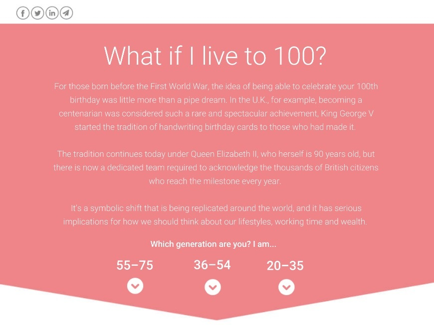 What If I Live To 100