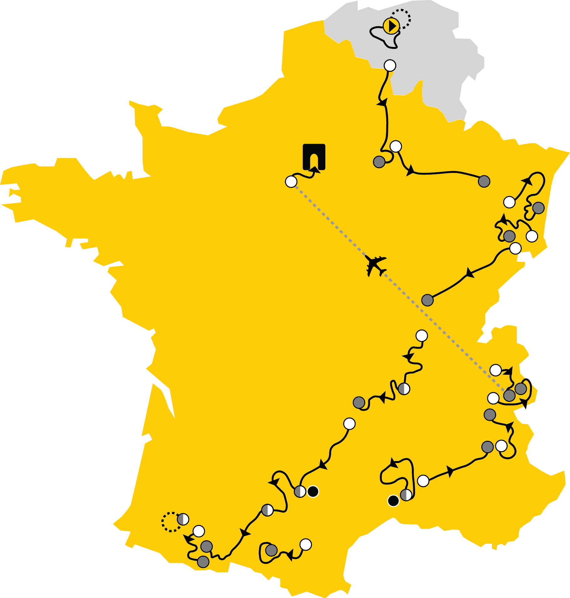 Tour De France 2019 Where Could The Race Be Won Bwin Graphic