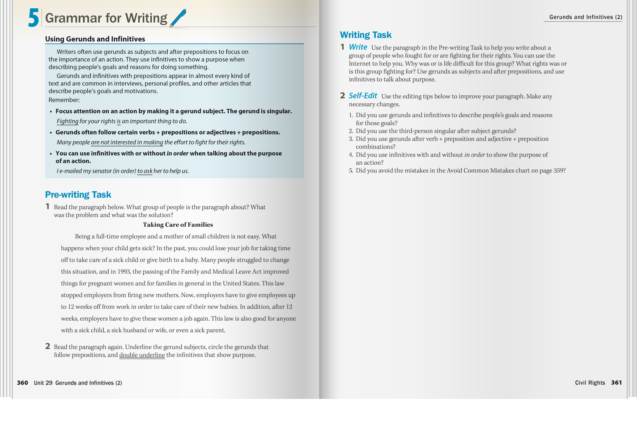 More comprehensive approach to academic writing