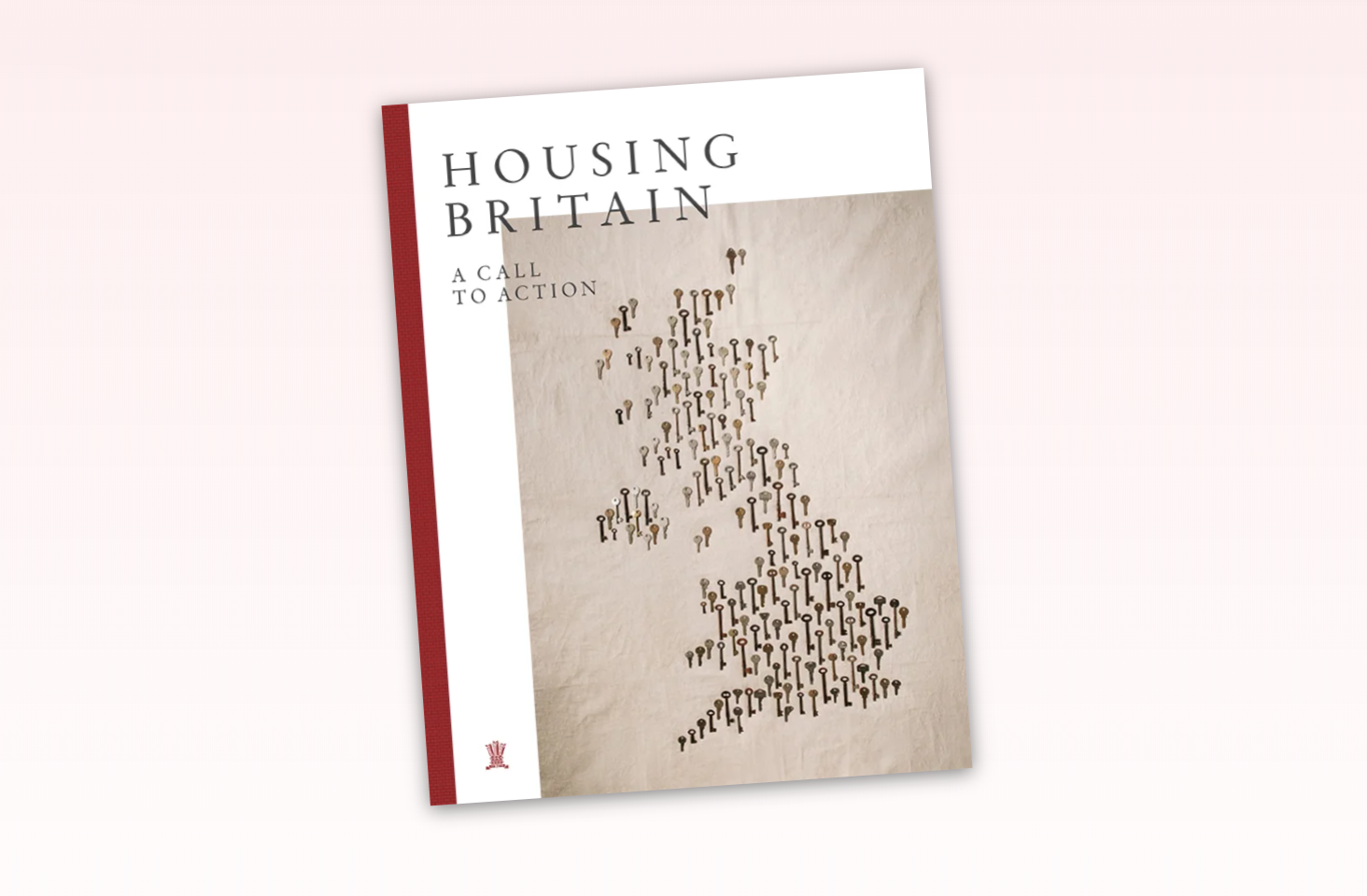 Image of the cover of Housing Britain A Call to Action report