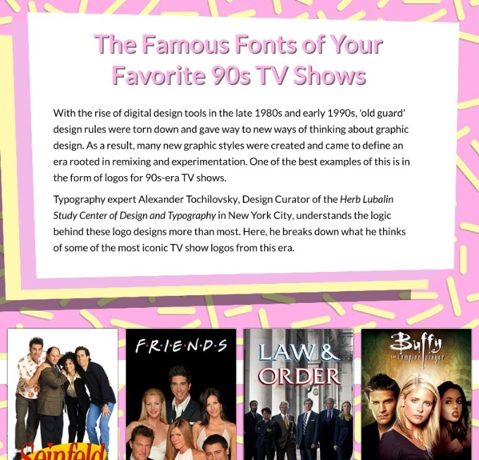 Essay about your favorite tv programs