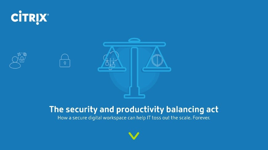 The security and productivity balancing act