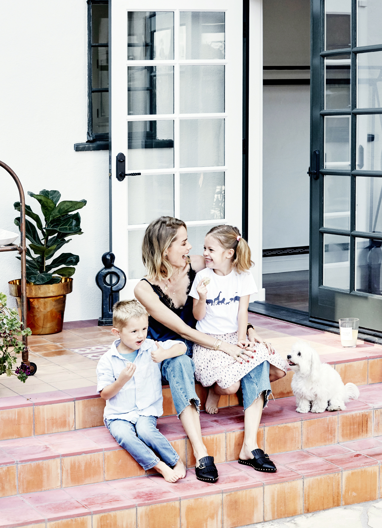 We Step Inside The Family Home Of L.A. Based Fashion Designer Anine Bing,  As She Opens Up About Motherhood, Guilt, And Chasing Balance.