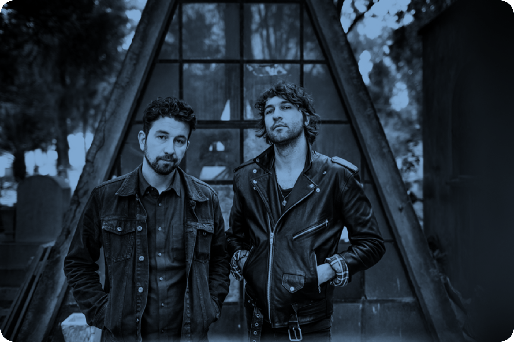 Members of the band Japandroids