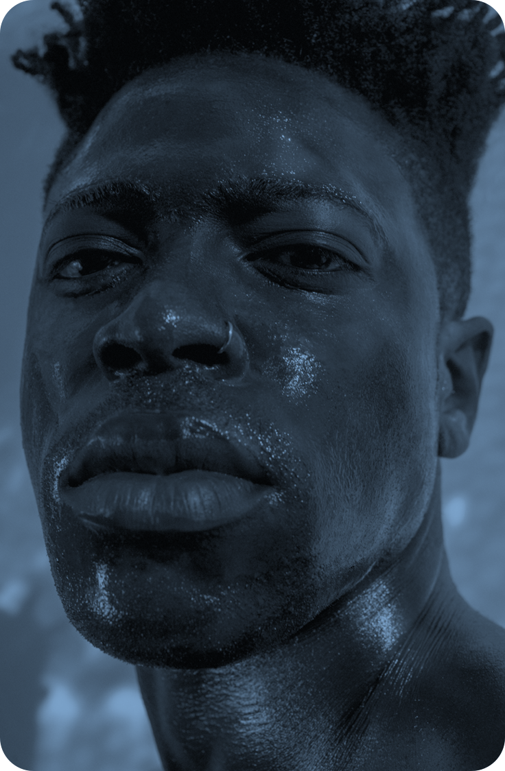 Portrait of Moses Sumney