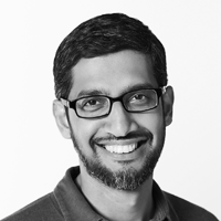 Sundar Pichai  CEO, Google  and Alphabet