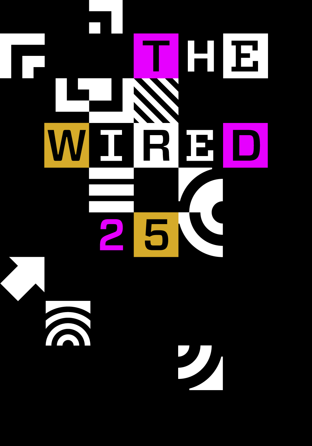 WIRED 25 Logo