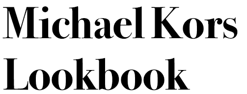 retail marketing example #5: michael kors lookbook