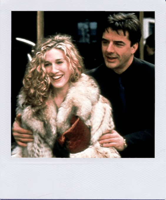 carrie bradshaw and mr. big sex and the city polaroid