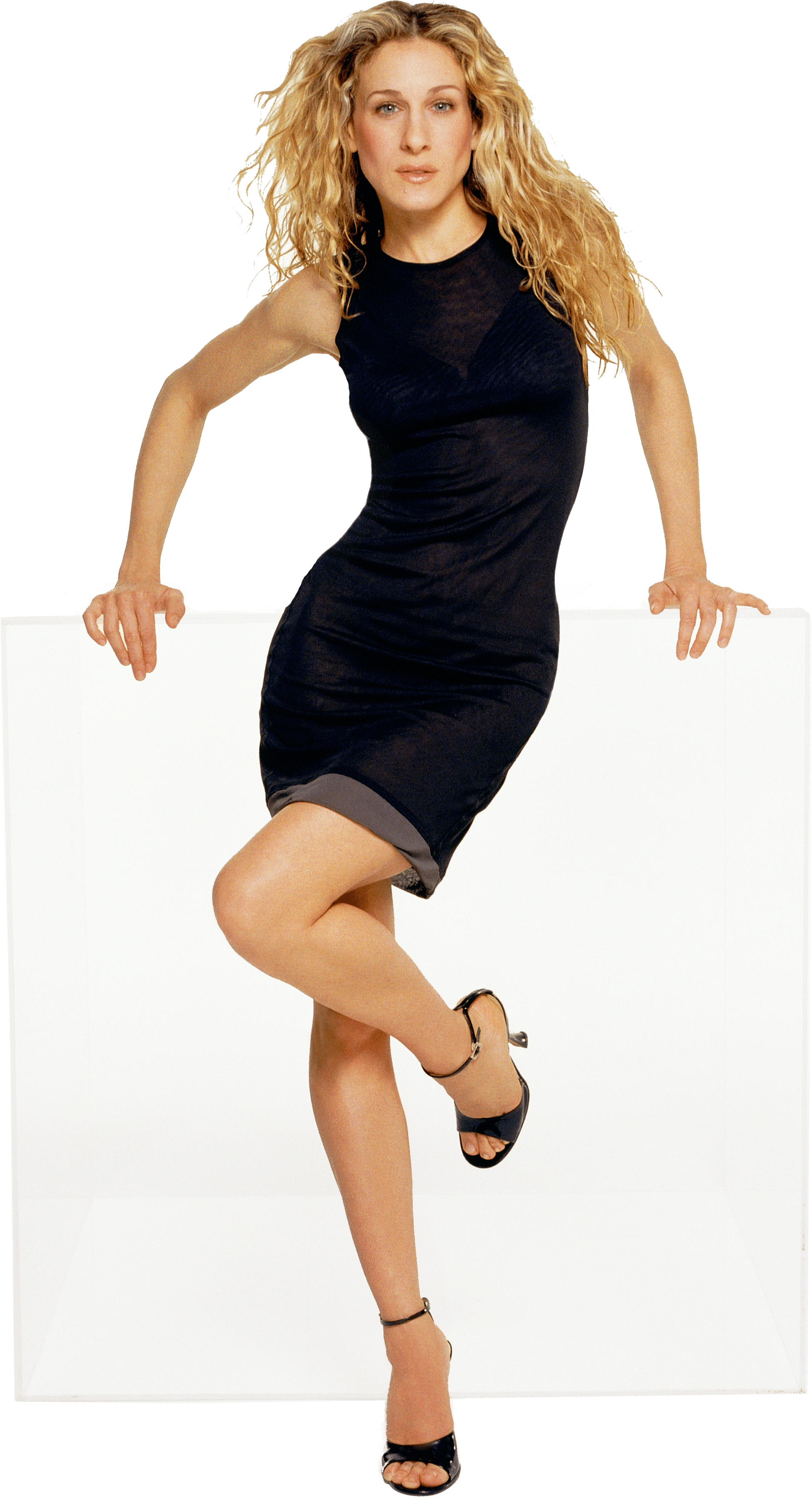 Carrie Bradshaw black dress sex and the city