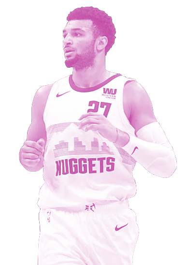 Jamal Murray in the Denver Nuggets 2018 City Edition Uni