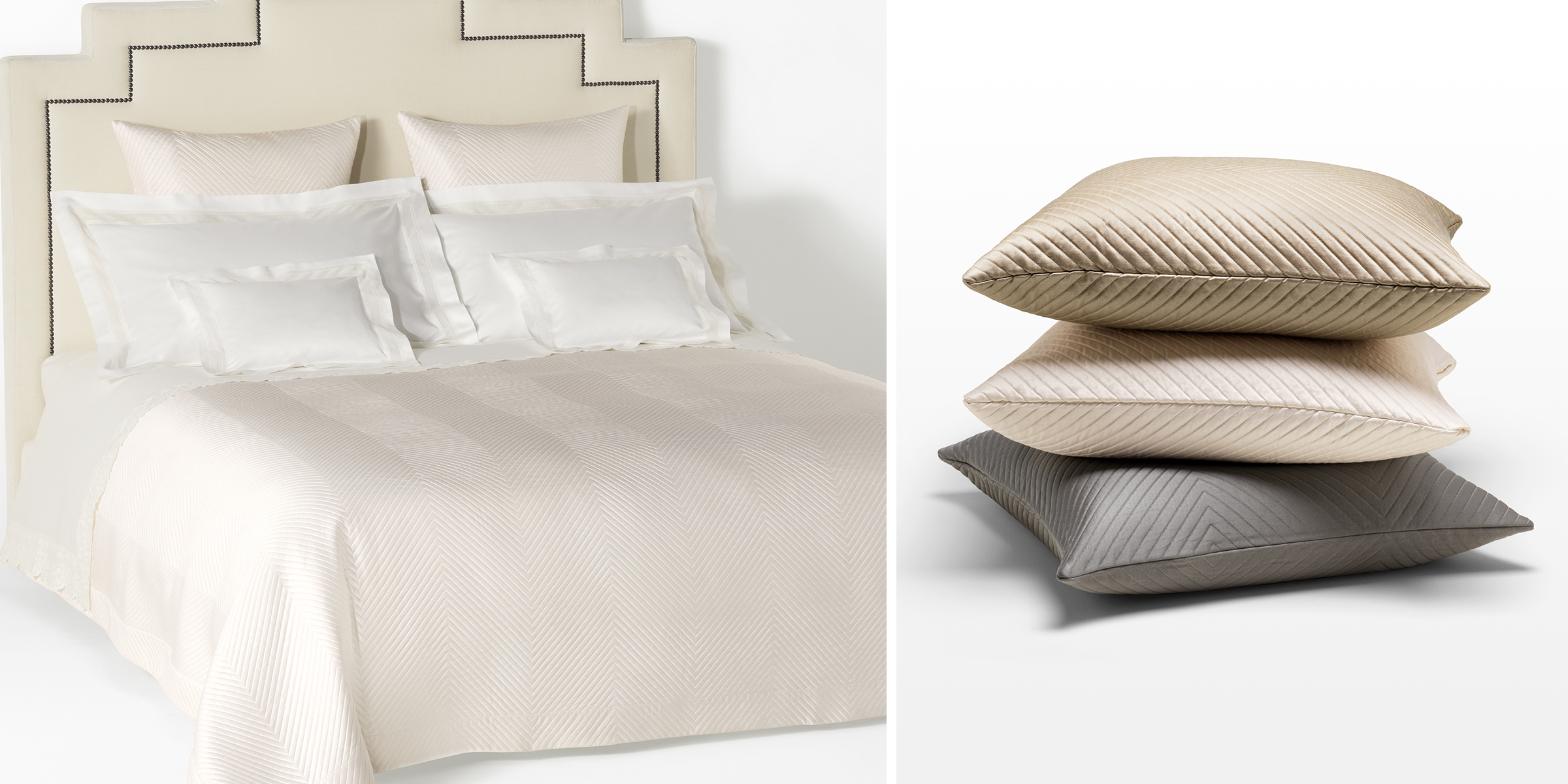 Choose bed linen for the first wedding night 49