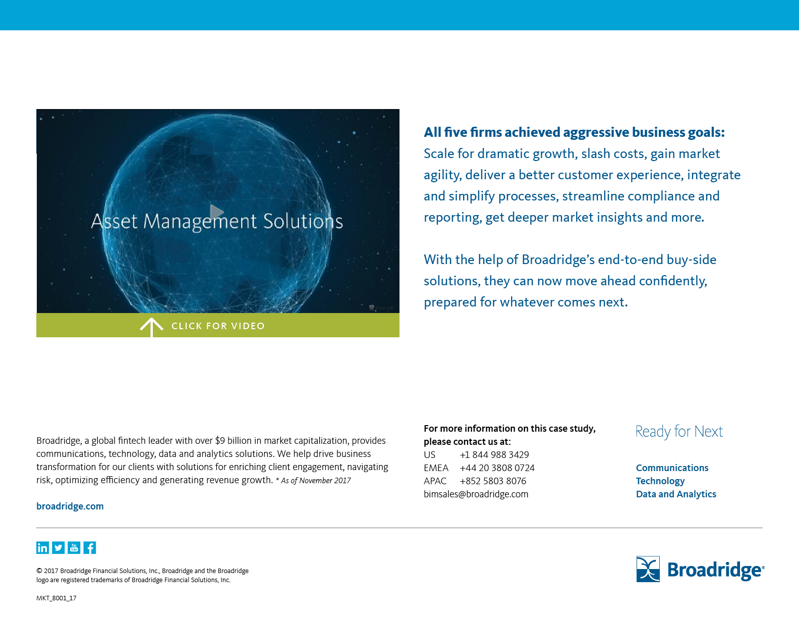 Asset Management Operations Case Studies | Broadridge