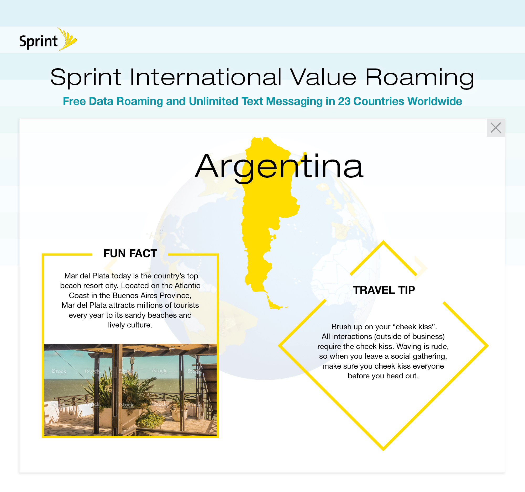 Sprint Expands Free Data Roaming to Colombia, Denmark