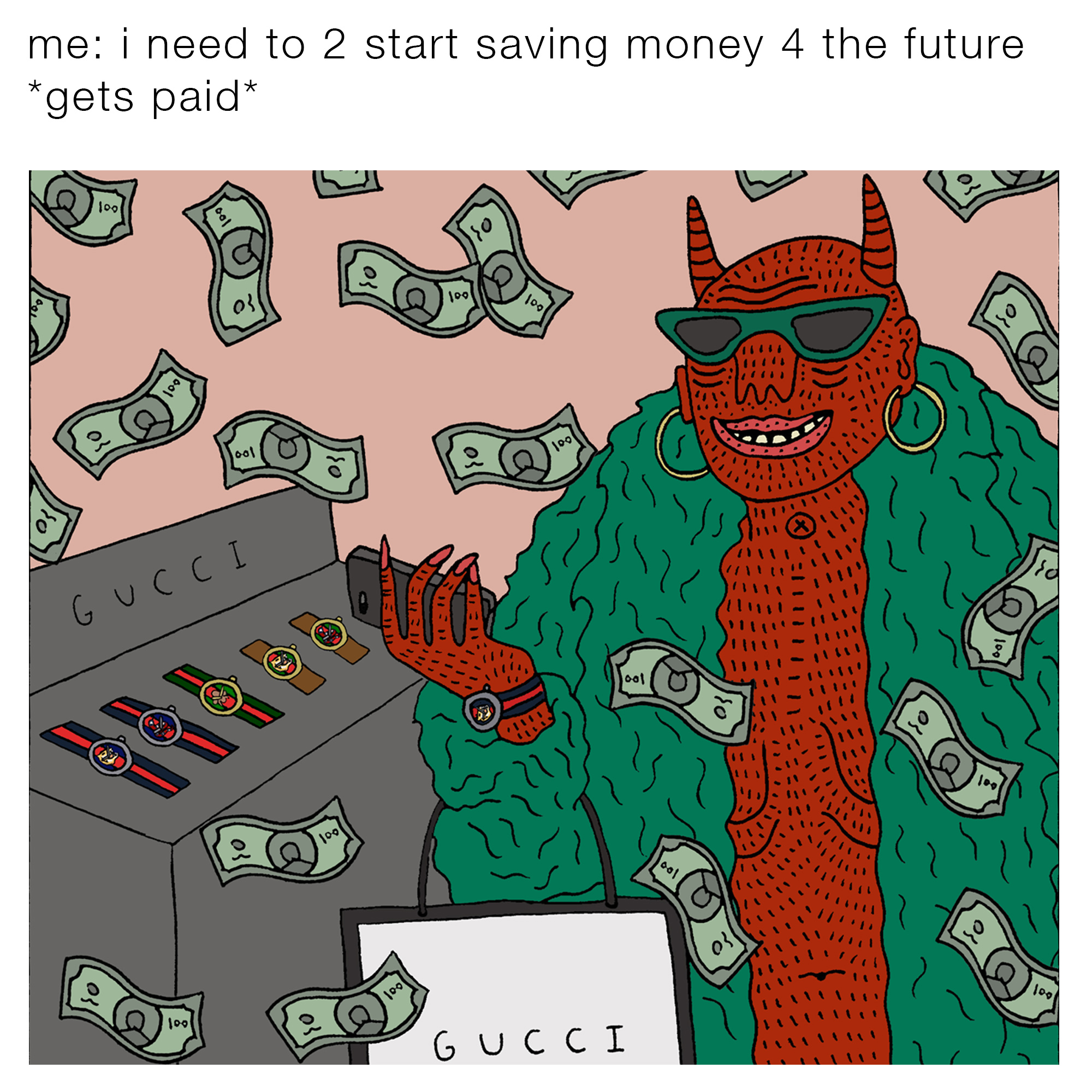 Tfwgucci A Collaborative Meme Project Strange Nostalgia For The Future How To Tie Back Artists Page