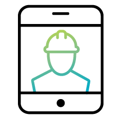 Connected Worker icon
