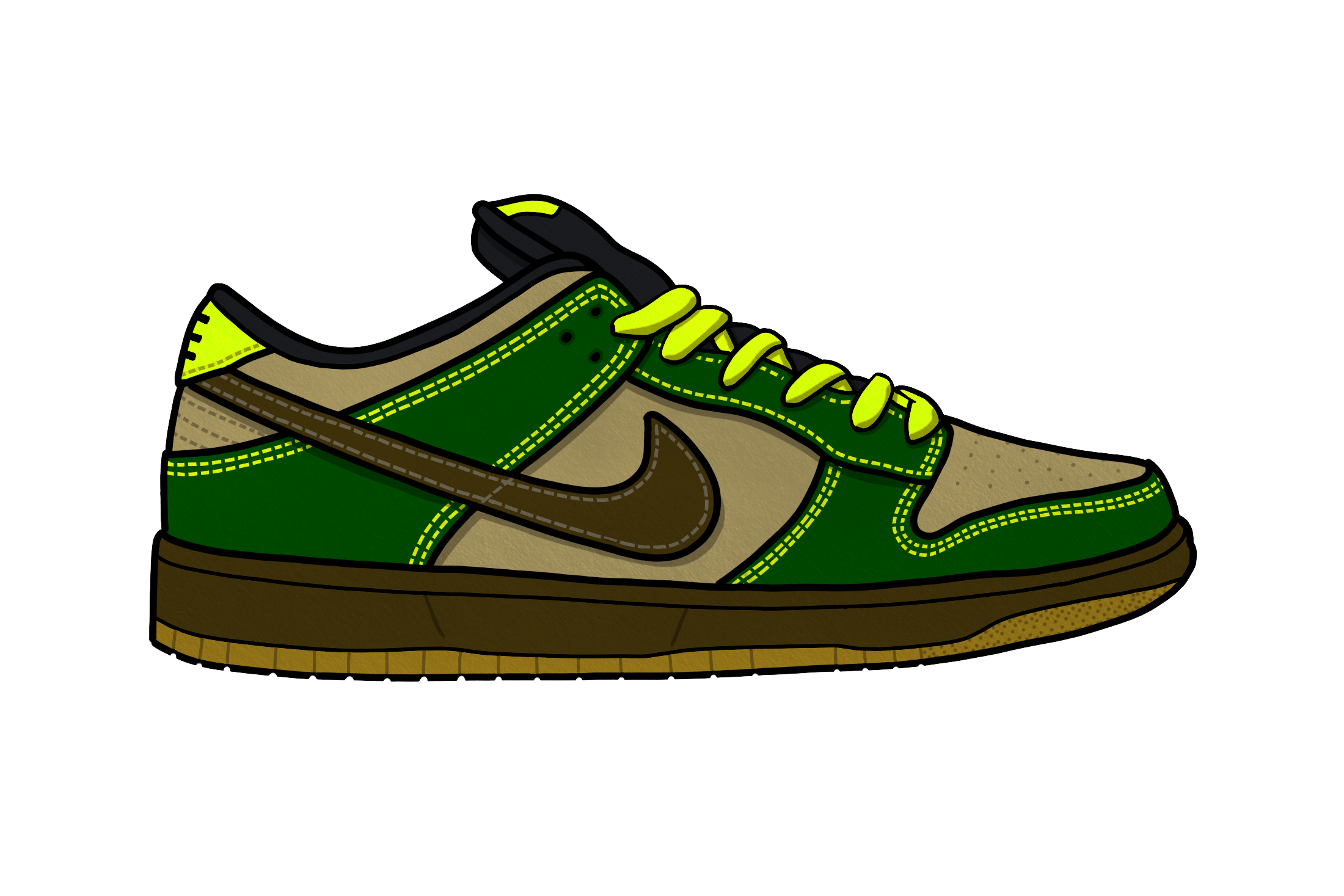 Supa s second entry into the SB Dunk canon put his team c826584387