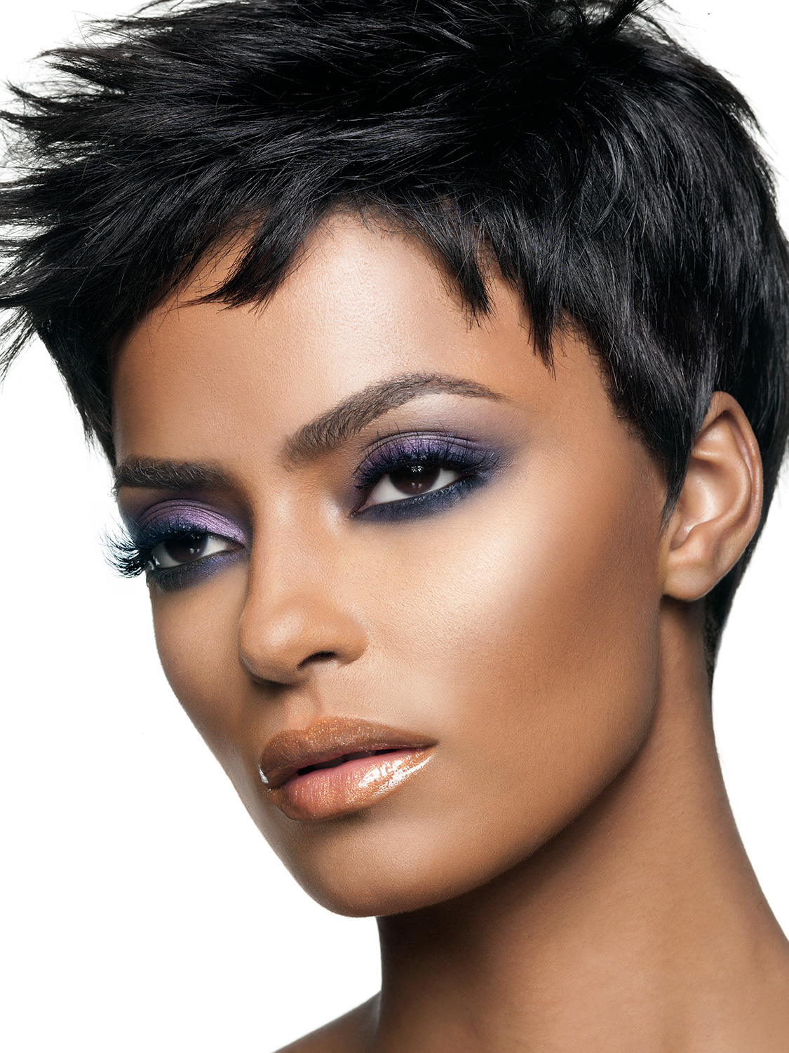 Model Credits Get The Look Model Iman Cosmetics Beauty