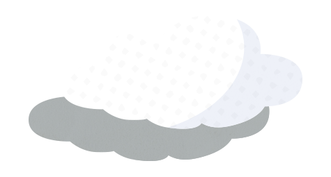 interactive story element - floating cloud