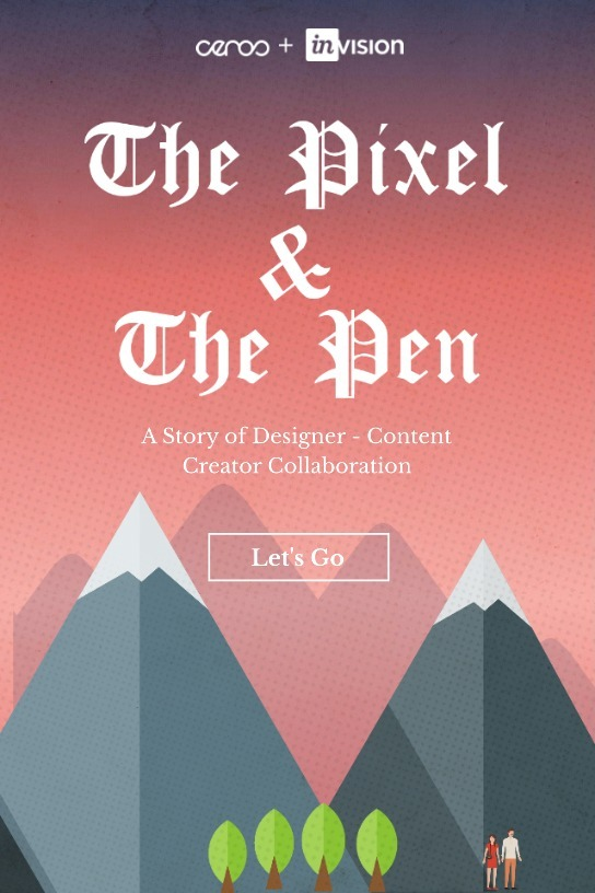 The Pixel & the Pen: A Designer + Content Creator Interactive Story
