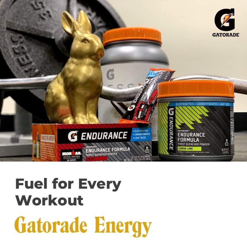 fuel for every workout - gatorade