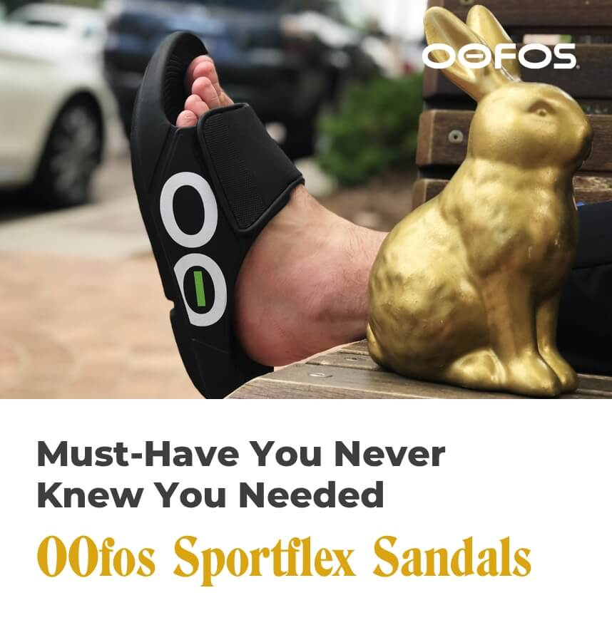 must-have you never knew you needed - oofos sportflex sandals
