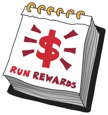 exclusive deals for run rewards members every month