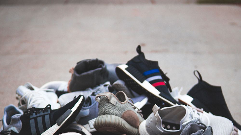 article image - pile of shoes on ground