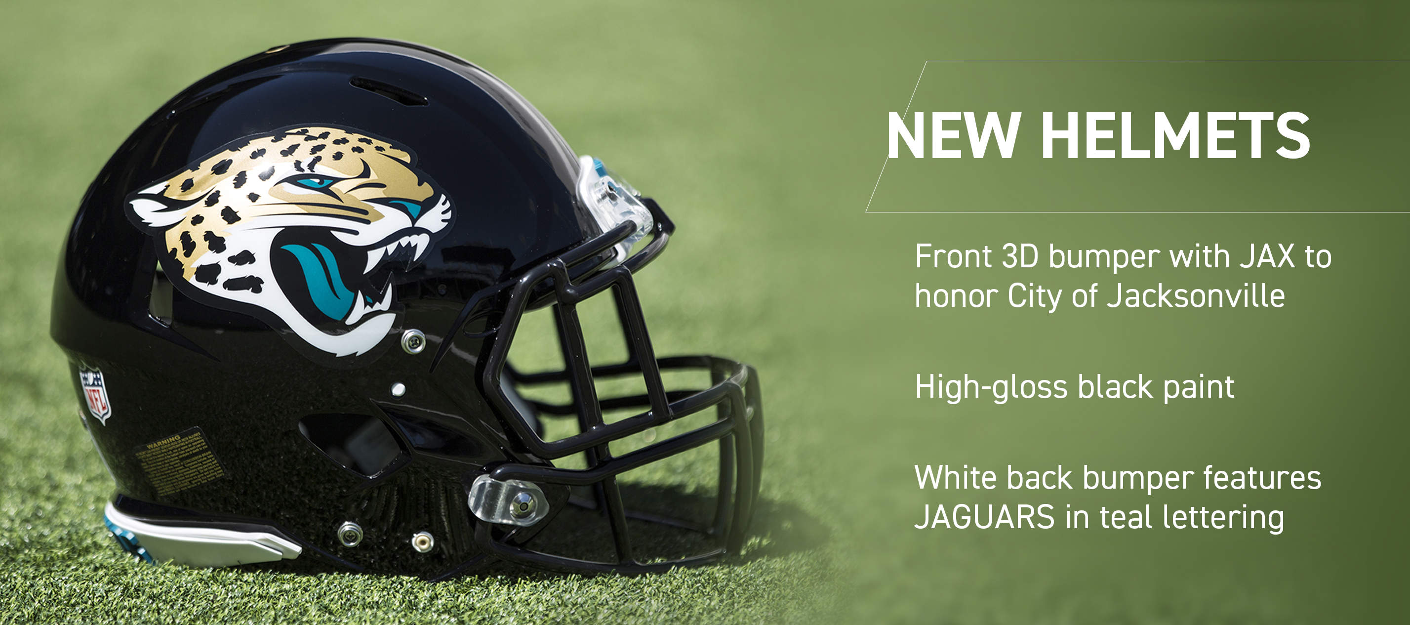 online store 2cf40 087ba Jacksonville Jaguars New Uniforms Analysis : nfl