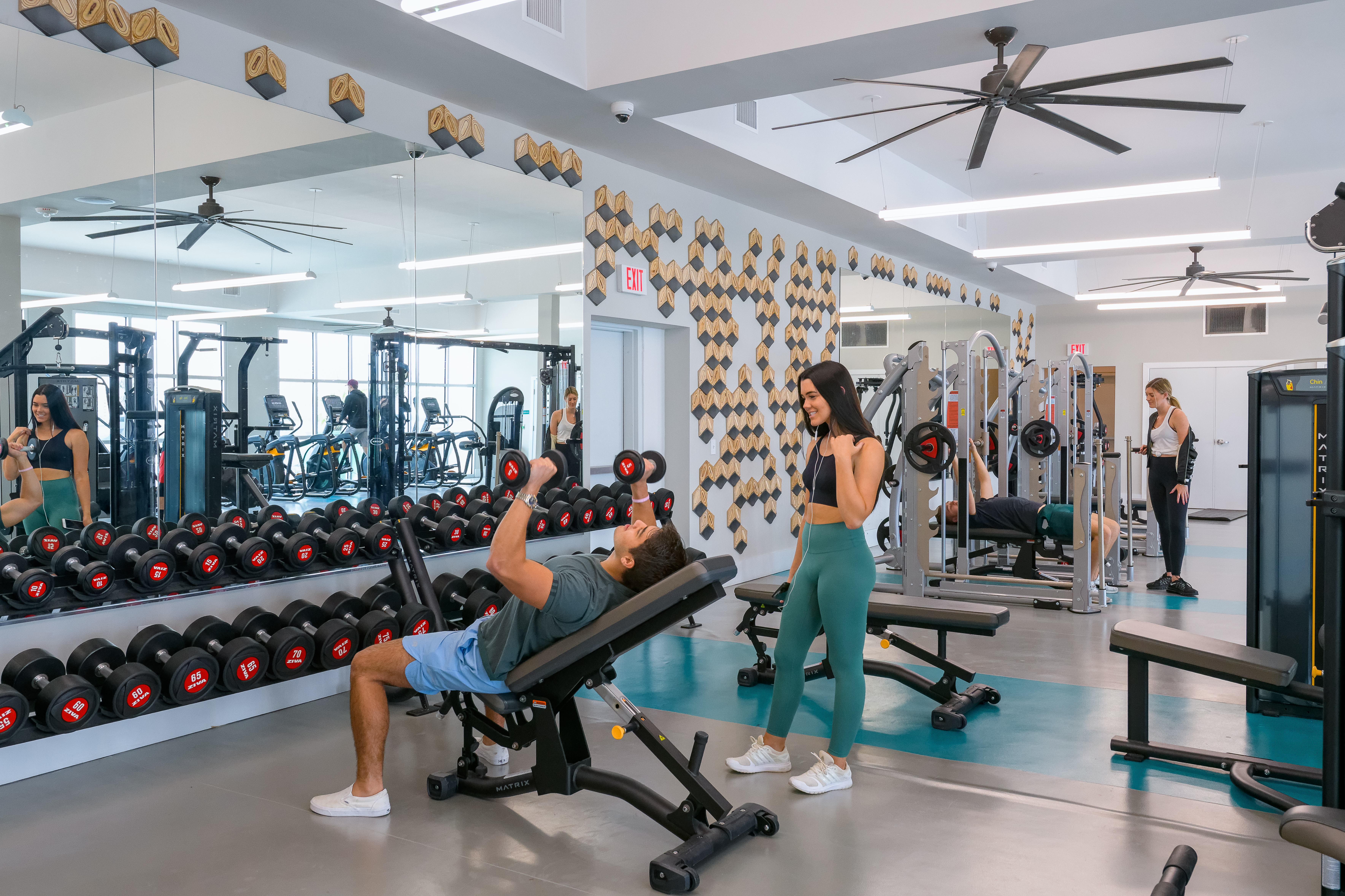 The Standard Tampa Fitness Boy and Girl