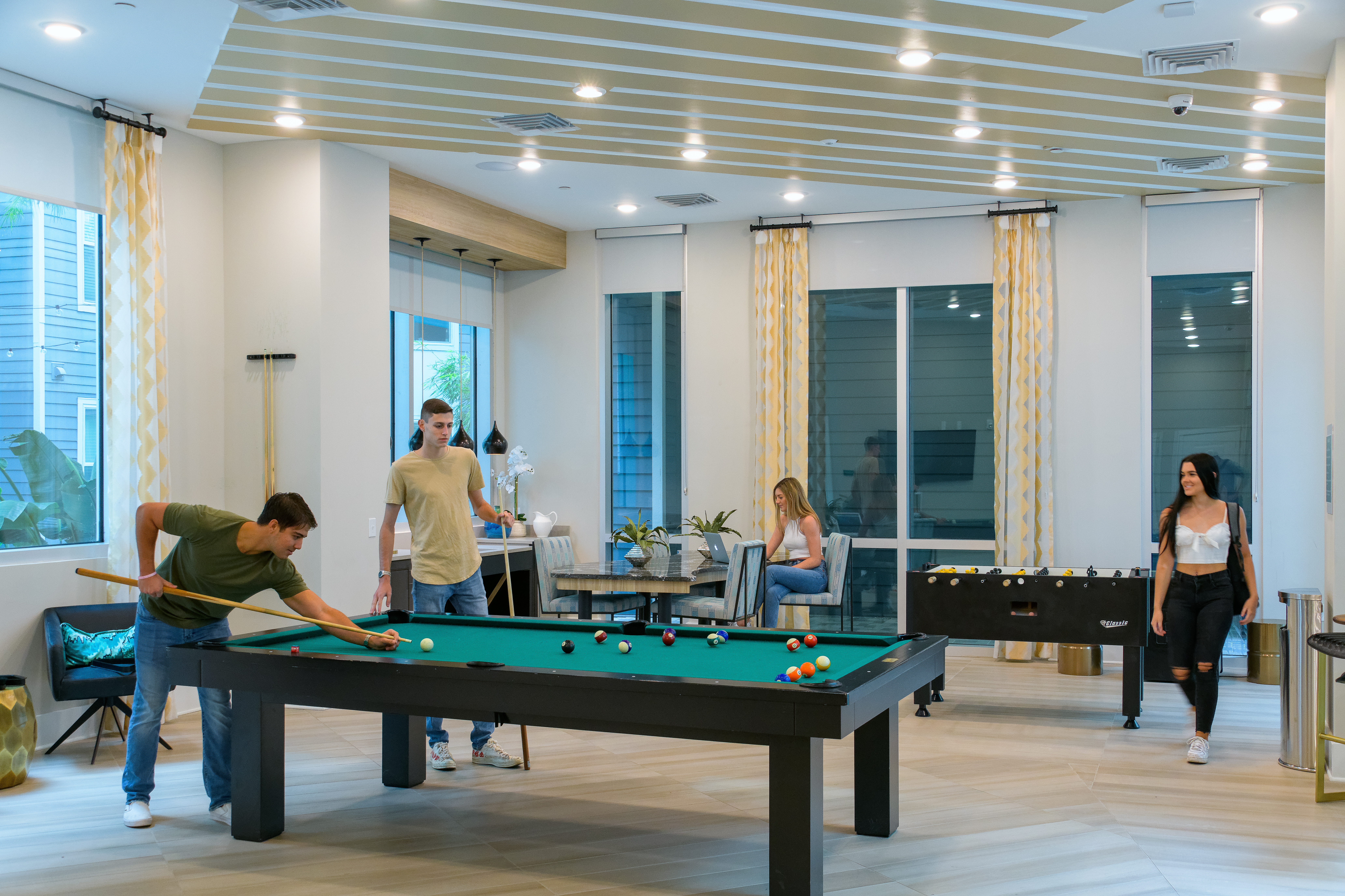 The Standard Tampa Clubhouse Billiards
