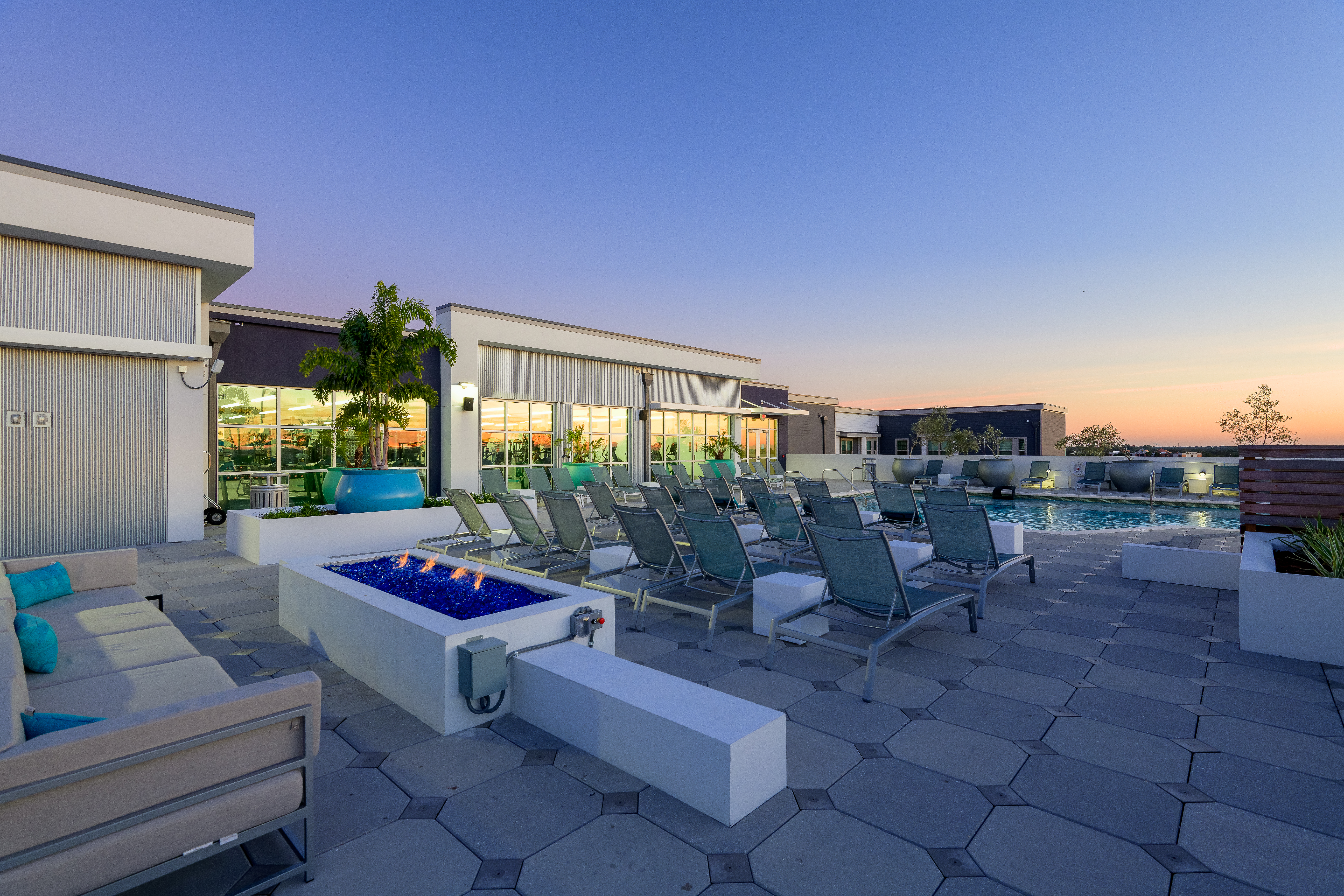 The Standard Tampa Rooftop chairs