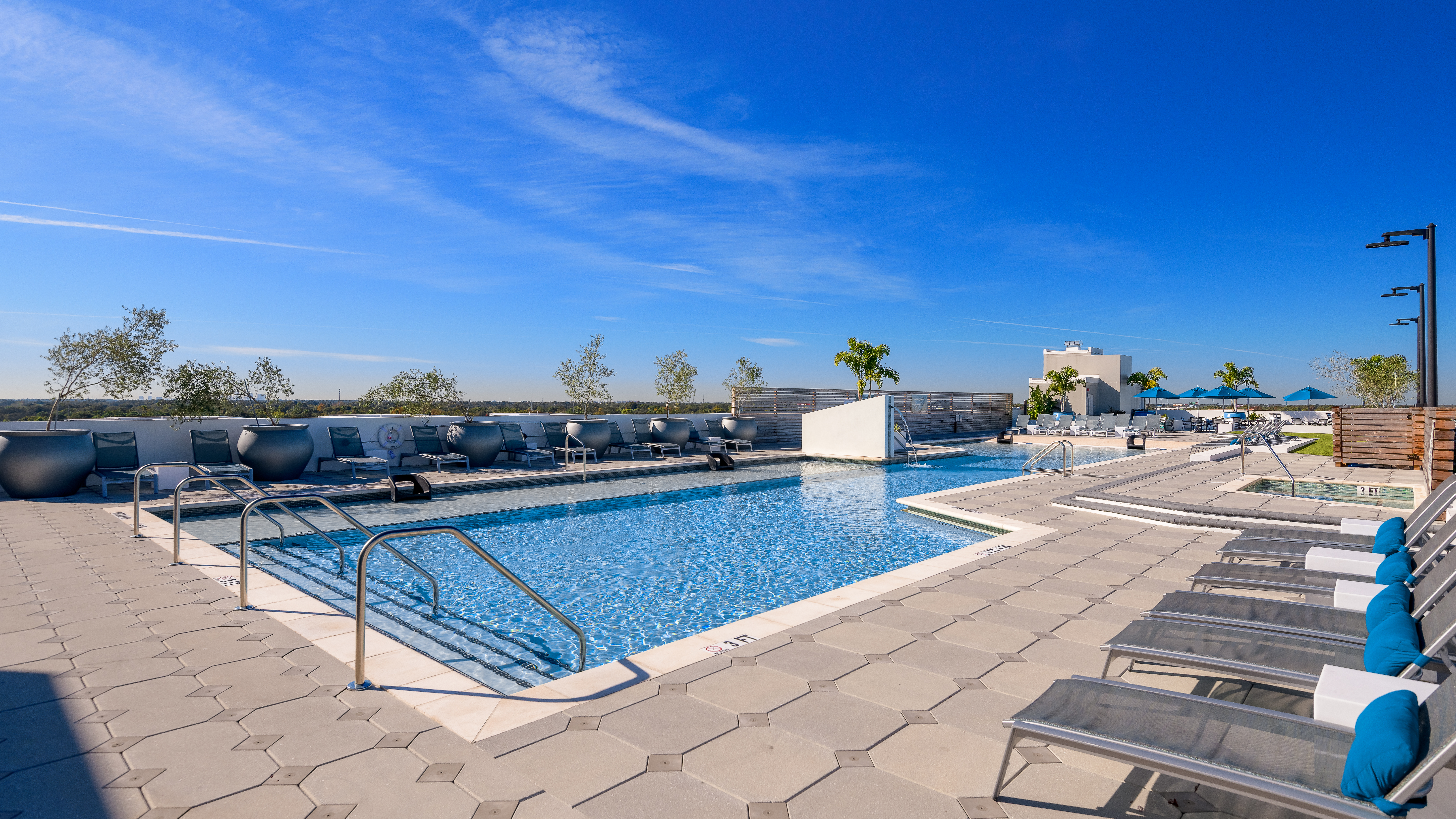 The Standard Tampa Rooftop Pool