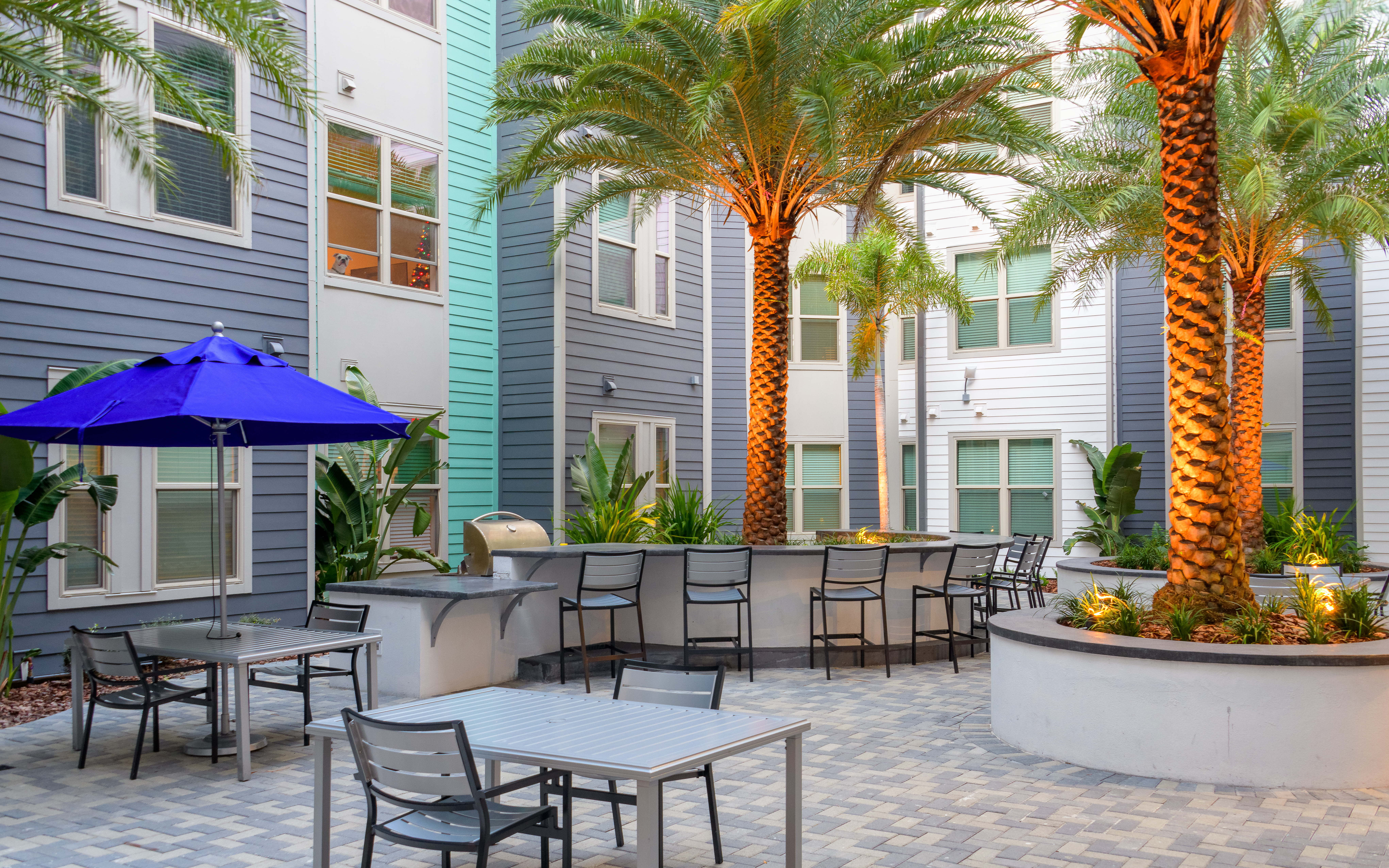 The Standard Tampa Courtyard Grill
