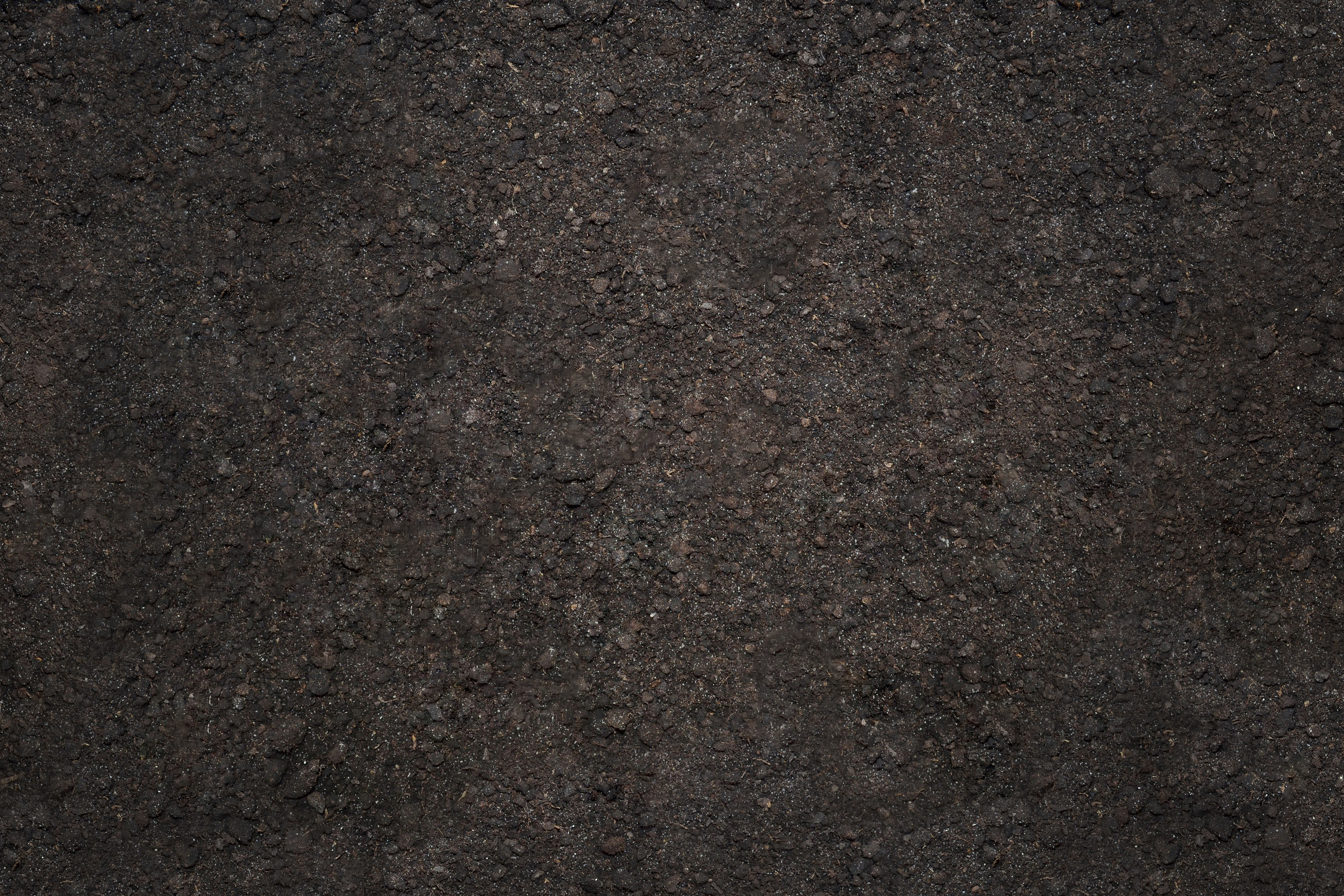 texture in the form of plowed soil