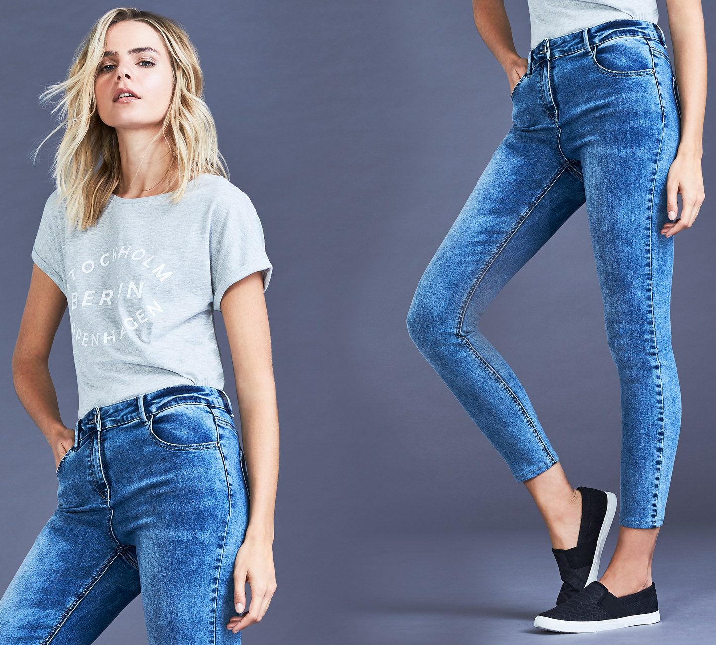 Women's Skinny Fit Jeans - Shop Now