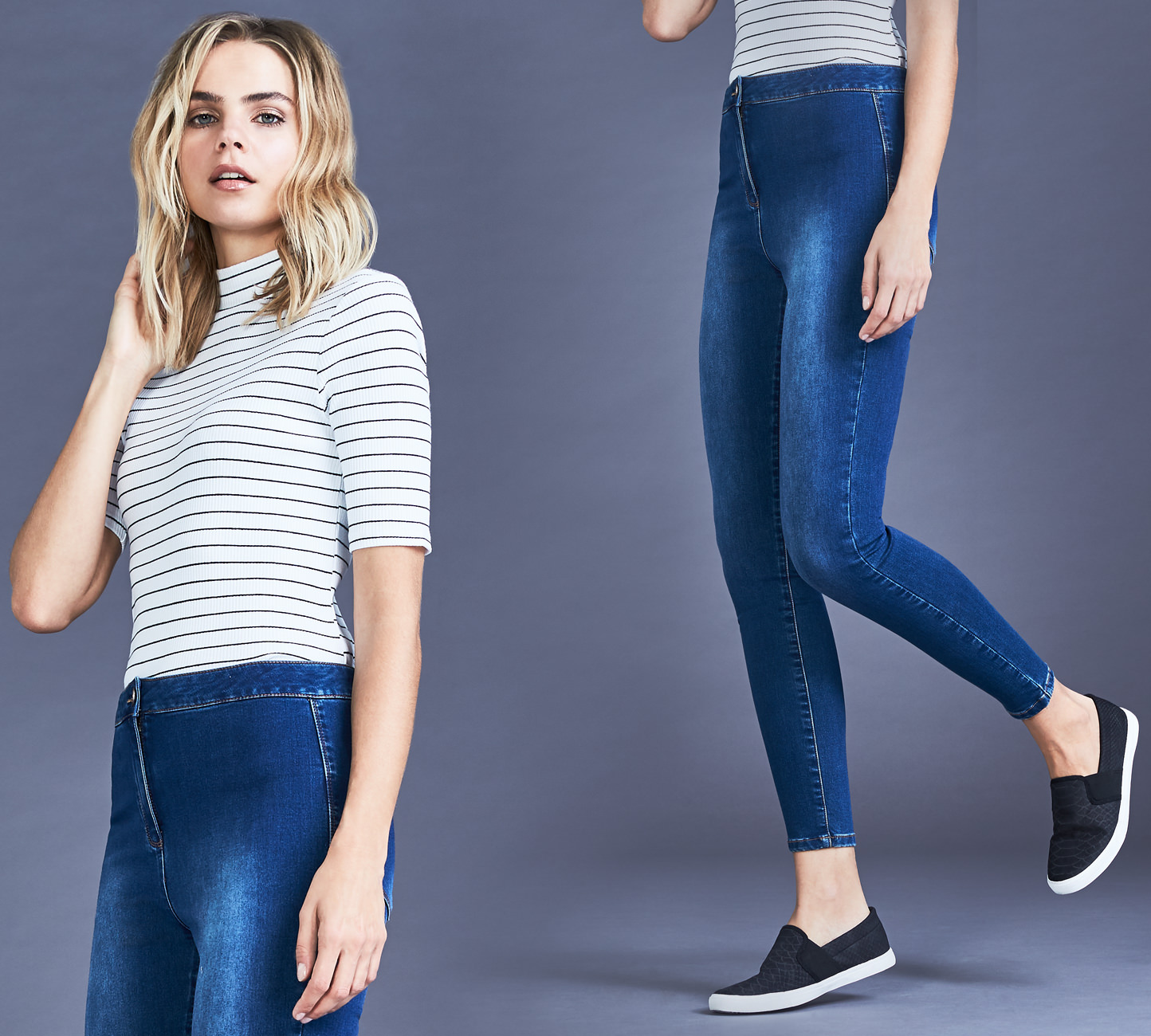 Women's High Waisted Jeans - Shop Now