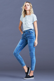 Women's Relaxed Skinny Fit Jeans